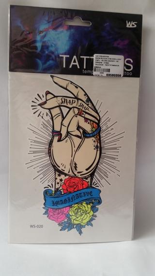 Fake Tatoo-tatuagem Temporária 18x10 Cm