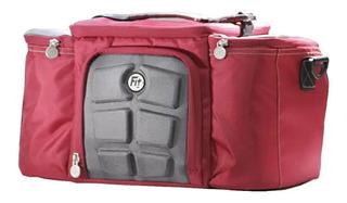 Fit Bag / Bolsa Térmica Para Nutrição Fitness / Com Marmitas