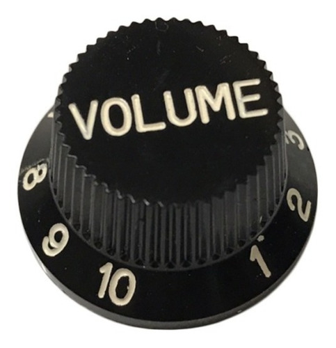 Perilla Volumen Sambong Kn005vb Negro Stratocaster