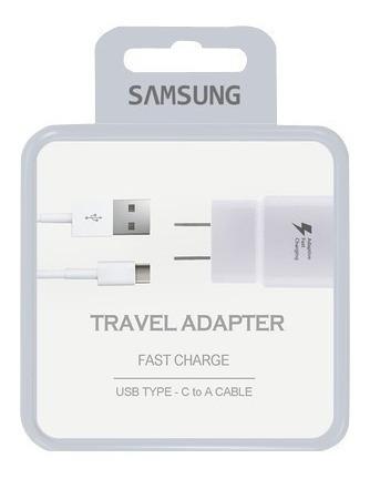 Cargador Samsung Tipo C Original Carga Rapida Sellado Tienda