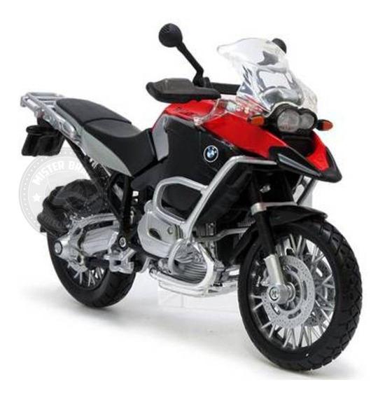 Miniatura Moto Bmw R1200 Gs Maisto 1/12