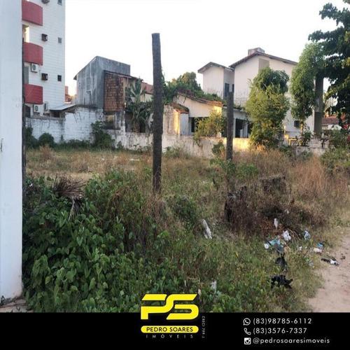 Terreno À Venda, 1050 M² Por R$ 1.350.000,00 - Camboinha - Cabedelo/pb - Te0184