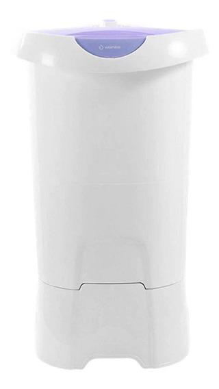 Lavadora de roupas semi-automática Wanke Lis branca/violeta 4kg 220V