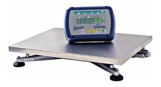 Bascula Comercial Systel Nexa 150 Kg Cuotas - Envio Gratis