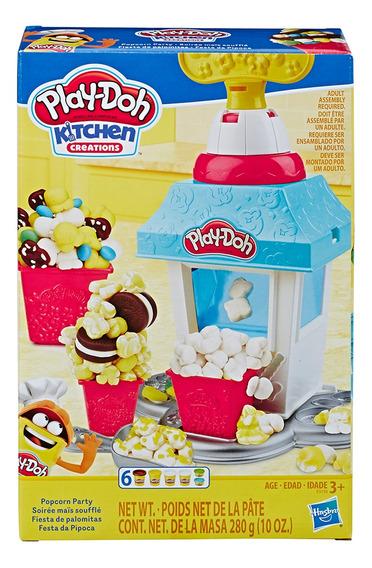 Play Doh - Cozinha De Criações - Festa Da Pipoca