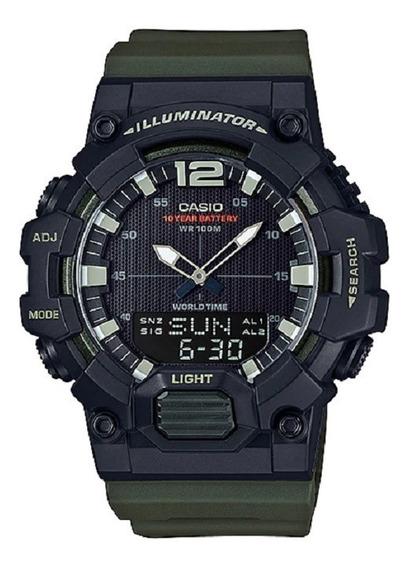 Relógio Casio Masculino Iluminator Hdc-700 3avdf