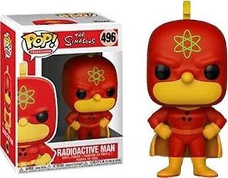 The Simpsons: Radioactive Man #496 Funko Pop Nuevo Nextgames