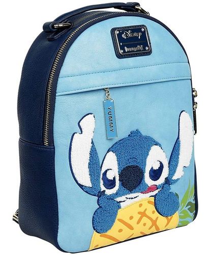 Imagen 1 de 7 de Bolsa Loungefly Backpack Stitch Con Piña