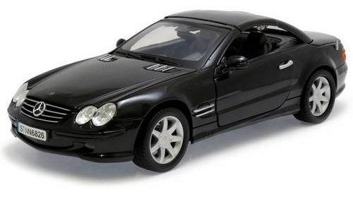 2002 Mercedes Benz Sl500 - Escala 1:18 - Motormax
