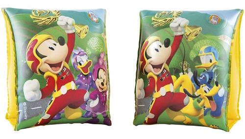 Imagen 1 de 5 de Flotadores De Brazos De Mickey Mouse Para Niños Piscina