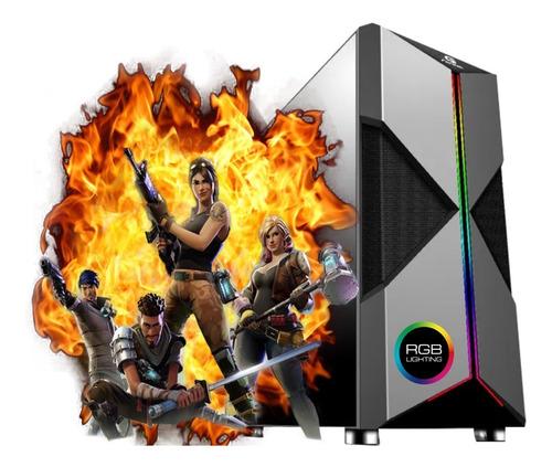 Imagem 1 de 2 de Computador Pc Gamer Ryzen 3 2200 Ssd 240gb 8gb Radeon Vega 8