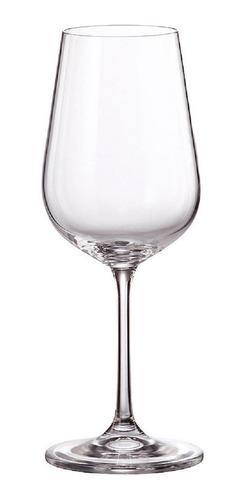Imagen 1 de 4 de Copa De Vino Blanco 390ml Set X6 Tori Titanium Bohemia
