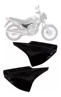 Cacha Lateral Derecha Original Honda Cg Titan 150 Negra Mil