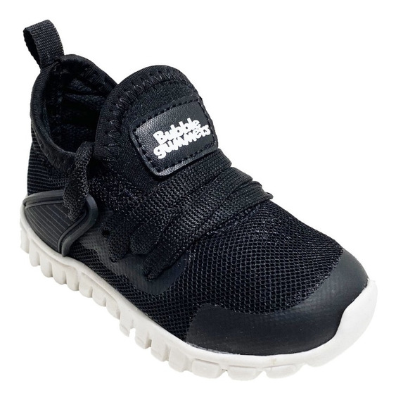 Zapato Tenis Para Niño Moderno Bubble Gummers Jammer Negro