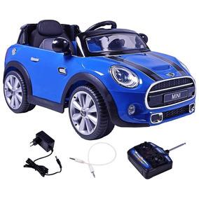 Carro Elétrico Mini Cooper Controle Remoto 12v + Potente