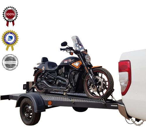 Imagem 1 de 9 de Carreta Moto Basculante Para Motos Grandes