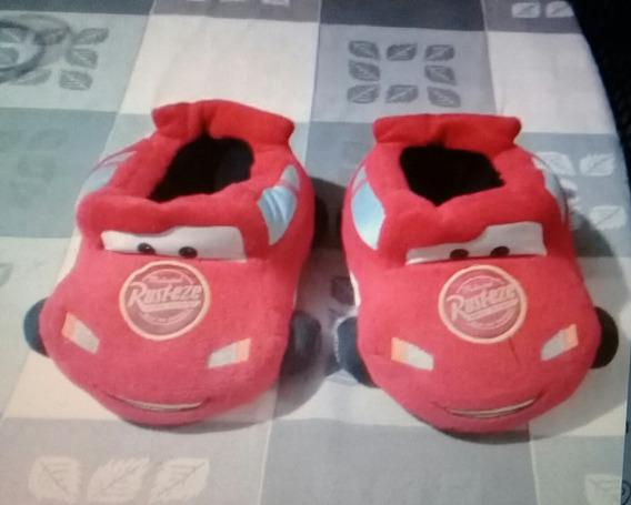Pantuflas Babuchas Niños Cars Disney Pixar Num 27