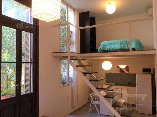 San Telmo, Duplex 2 Ambientes, Alquiler Temporario Sin Garantía