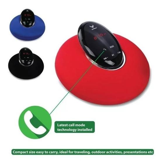 Caixa De Som Daniu - Radio Relógio Bluetooth Ds-7610