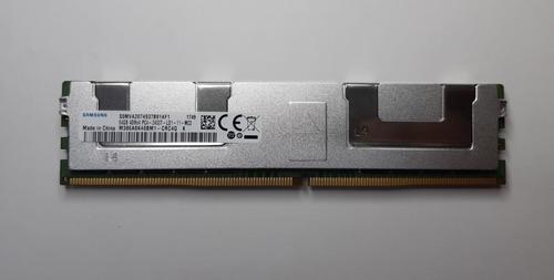 Memória Samsung 64gb Ddr4 4drx4 Pc4-19200t Lrdimm 2400mhz