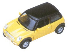 Mini Cooper 1:36 Welly 9766 Lionels