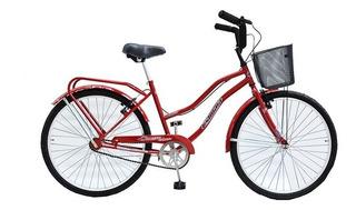 Bicicleta Playera Dama Full Rodado 26