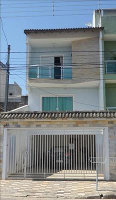 Sobrado À Venda, 3 Quarto(s), Santo André/sp - 54354