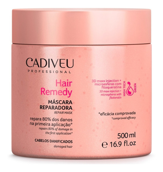 Cadiveu Hair Remedy Máscara Reparadora 500ml