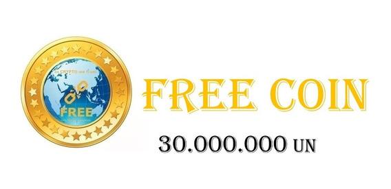 30 Milhões Freecoin (free) Criptomoedas Bitcoin + 10%