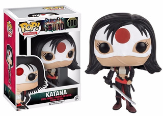 Funko Pop! Heroes. Suicide Squad- Katana 100