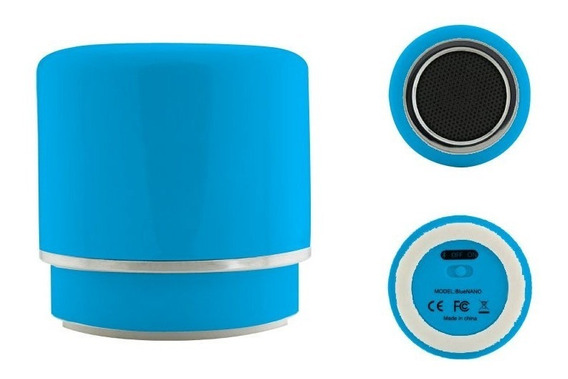 Caixa De Som Portatil Bluetooth Amplificada Speaker 2w