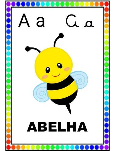 Imagem 1 de 4 de Alfabeto Colorido Em Pdf Para Imprimir
