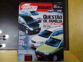 Revista Quatro Rodas 535 Janeiro 2005 Minivan Audi A6 R439
