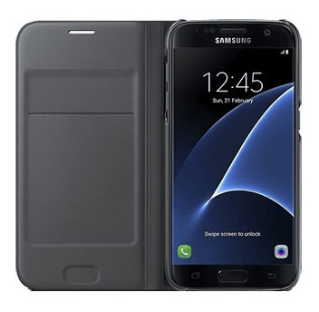 Flip Cover Samsung Galaxy S7 Negro