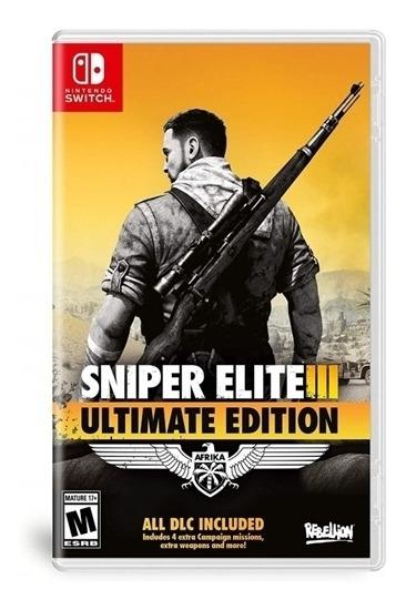 Sniper Elite Iii Ultimate Edition - Switch Lacrado