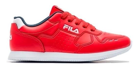Zapatillas Fila Classic 92 Junior Roja Envíos A Todo El País
