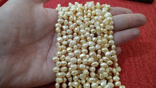 Hilos De Perlas Cultivadas Para Joyeria Y Artesanias