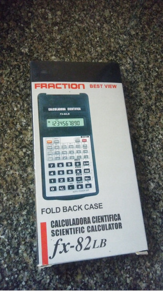 Calculadora Cientifica Fraction Fx-82lb