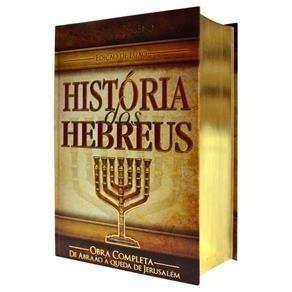 Livro História Dos Hebreus Obra Completa Do Flávio Josefo