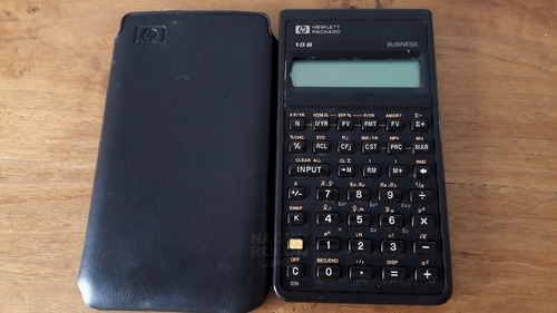 No Prende Antigua Calculadora Hewlett Packard 10b -no Prende