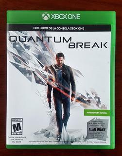 Quantum Break Xbox One Dakmor Fisico Impec Canje