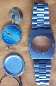 Relógio Sandoz Automático Movimento 909 P/ Conserto Ou Peças