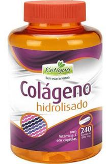 Colágeno Hidrolisado 500mg 240 Cápsulas - Katiguá