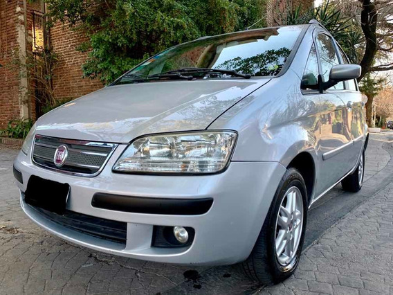 Fiat Idea 1.4 Elx Mp3 2009 Impecable Permuto
