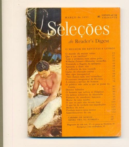 *sll* Revista Seleções Do Readers Digest - Março De 1953