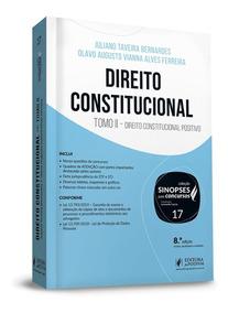 Direito Constitucional Vol.17 Tomo Ii Sinopses Concurso 2019