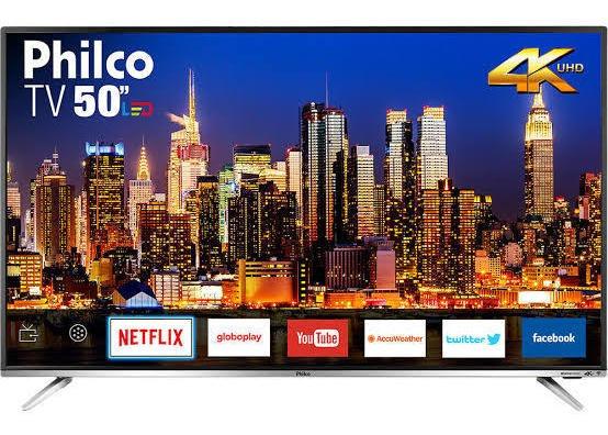 Televisão 50 Polegadas Smart 4k