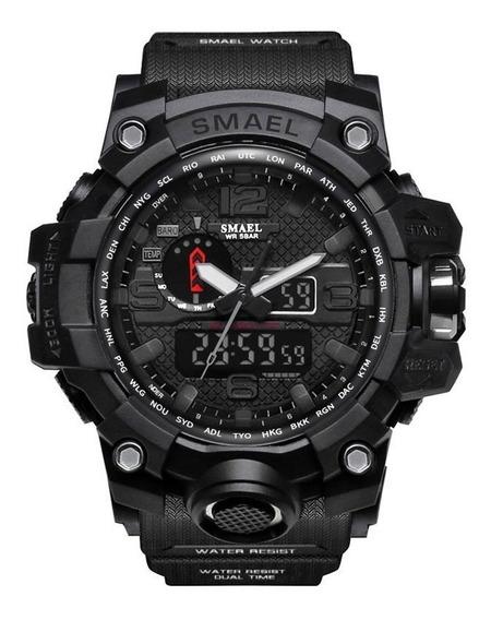 Relógio Masculino Esportivo Militar Digital Smael 1545