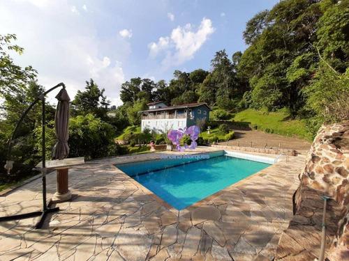 Chácara Com 3 Dormitórios À Venda, 3000 M² Por R$ 1.200.000,00 - Chacara Bom Jardim - Araçariguama/sp - Ch0110