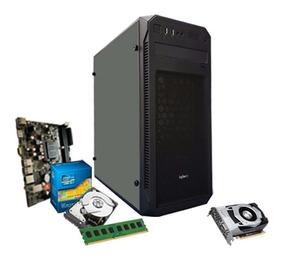 Pc Gamer Intel I5 3.6 Ghz, 8gb, Geforce 4gb 1050 Gtx Ti